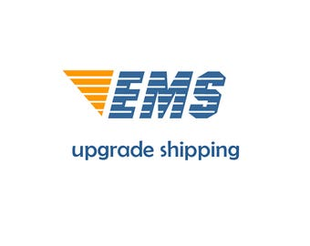 Upgrade your shipping to EMS, 3 days delivery time where priority registered mail is available- EU, US, Canada, and more is shipped priority