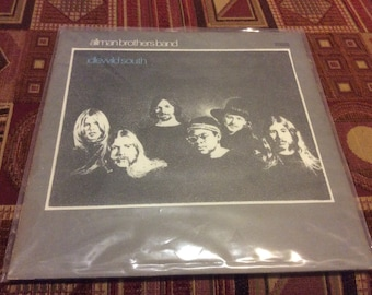 Allman Brothers Band - Idlewild South - 1970 Vinyl Record LP