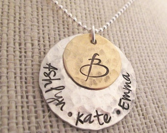 Personalized Jewelry for Mom - Family Necklace - Mothers Necklace - Mother Gift Personalized Necklace - Custom Name Necklace for Grandma