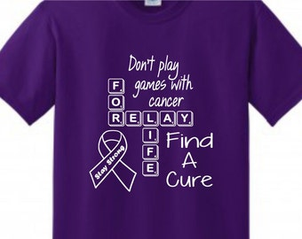 Relay For Life Etsy