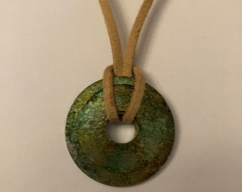 Upcycled Washer Necklace