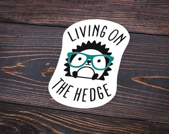 Pack of 8 Living On The Hedge Stickers