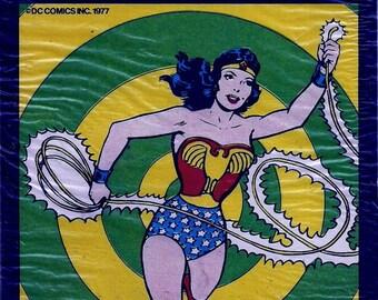 WONDER WOMAN Rub-Ons - Sealed - 1977