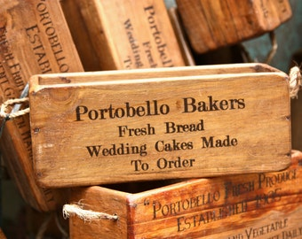 Portobello Market Photography - London Print - Portobello Bakers - Vintage Find - Notting Hill - Kitchen Art