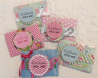 Baby Girl Gift Card Holder, Baby Shower Gift Card Holder