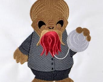 Cute Ood machine embroidery design 5x7