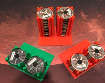 X-Wing Miniatures 3D printed Dial storage inserts (short or tall)