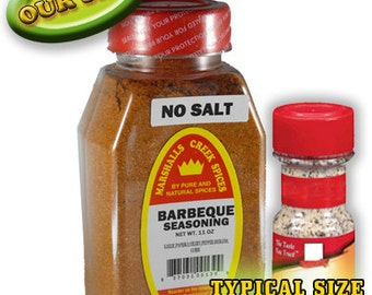 BBQ Seasoning No Salt 11 oz