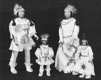Poster, Many Sizes Available; Indian Dolls. Nara 281620