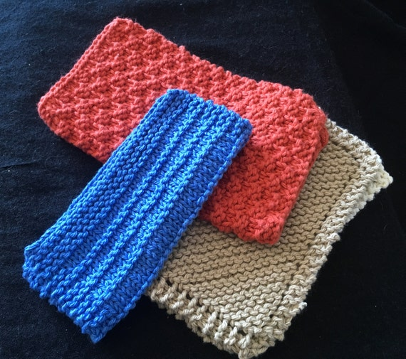 Bayeta punto tejido de paño paño de algodón paño azul tela