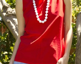 Red Simple Tank