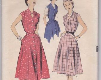 Vintage Advance Pattern 7046  Summer Dress