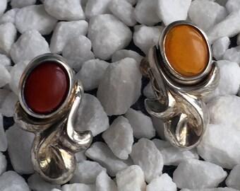 Arabesque earrings (Clip on type)