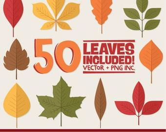 Professional Autumn Leaf Clipart, Autumn Leaf Vectors, Fall Leaves Clip Art, Fall Leaf Vectors, Autumn Clip Art, Autumn Vectors