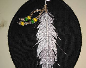 Native American Eagle Feather Patch