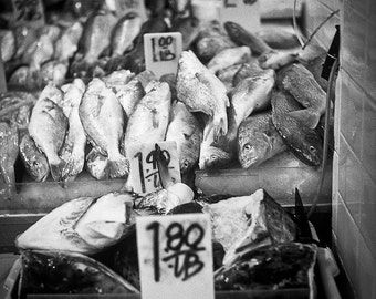 Fish market food ice Photography Chinatown per pound lb scales epicurean foodie seafood meal delicacies sushi fine art photograph