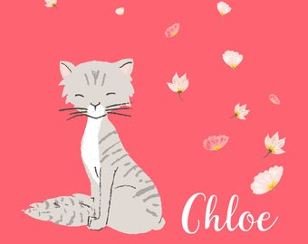 Cat Portrait - DIGITAL file