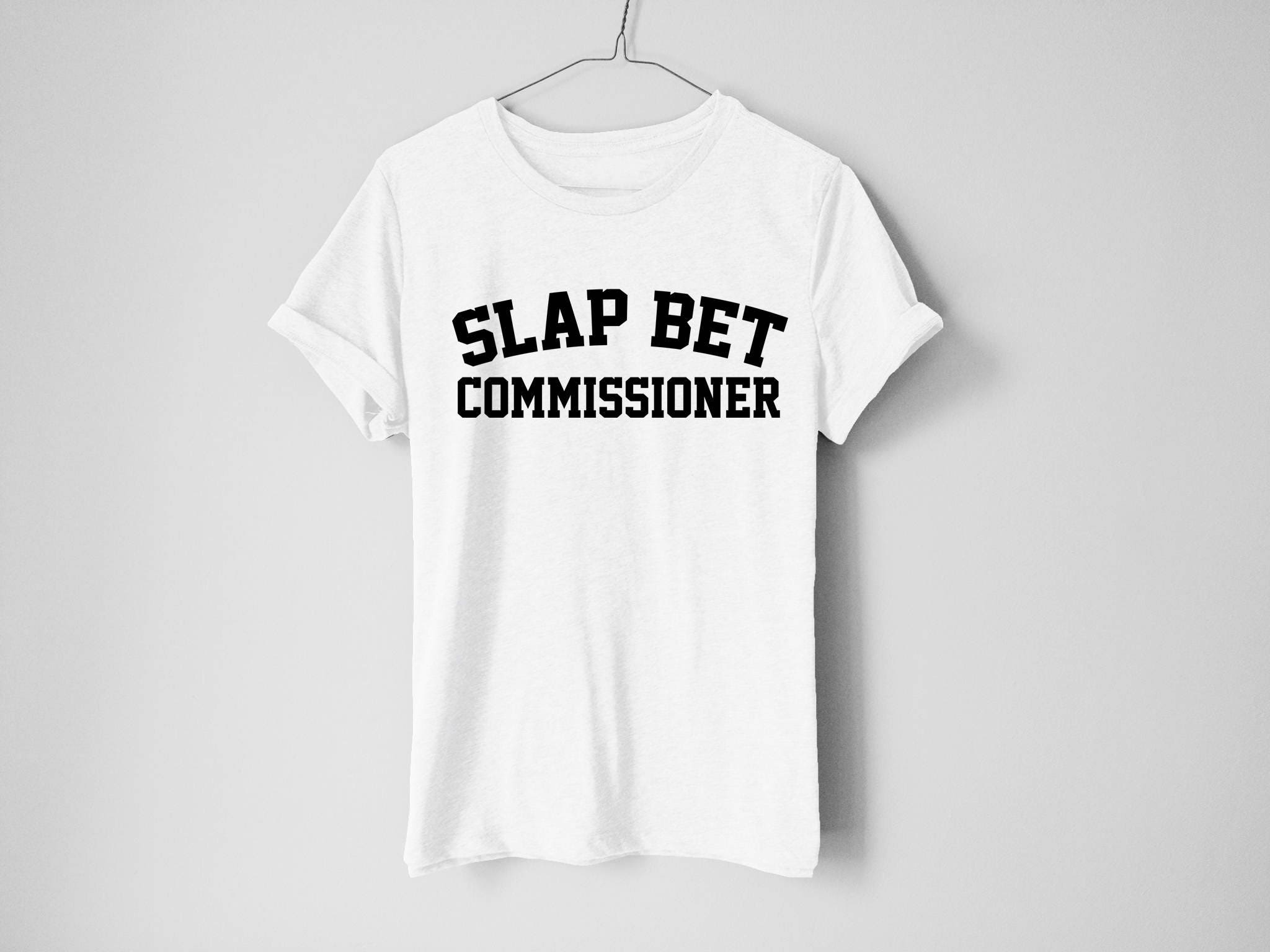 Slap Bet Commissioner Sweatshirt - Barney Shirt - How I Met Your Mother Shirt - How I Met Your Mother - Ted Shirt - Barney Stinson Shirt cQmFewQjdY