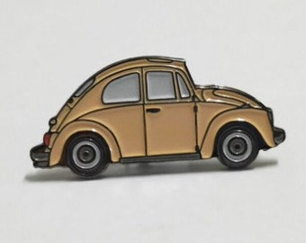 bundy's bug enamel pin
