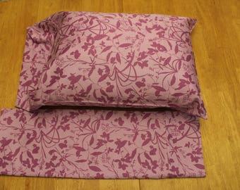 Organic Cotton Pillowcase Pair