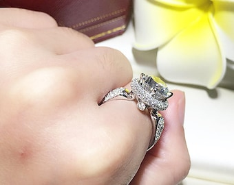 edwardian diamond versailles rings il ring engagement listing