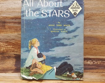 All About the Stars, 1954, Allabout books 7, Anne Terry White, vintage kids book