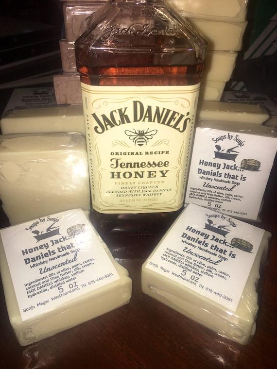 Jack Daniels honey Whiskey Handmade Soap whiskey soap