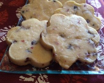 Berry Lime Shortbread Cookies -     1 Baker's Dozen