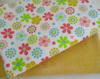 Quilting Fabric Bundle - Fabric by the Yard -  1/2 Yard Fabric Bundle - Total 1 Yard - Cotton Fabric - Designer Fabric