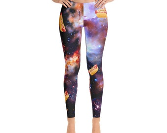 Weiners In Space Leggings