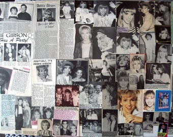 DEBBIE GIBSON ~ Lost In Your Eyes, Only In My Dreams, Electric Youth, Acting Dead, Deborah ~ Color and B&W Clippings frm 1988-1991 - Batch 1