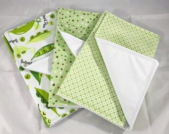 Burp Cloth, Burp Rag, Baby Shower, Baby Shower Gift, Burp Cloth Set, Gender Neutral Gift, Baby Gift, Gender Reveal, PUL, Gender Neutral baby