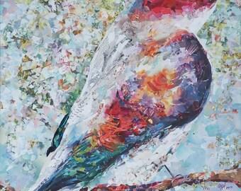 Bird No. 5 - Giclee Paper or Canvas Print