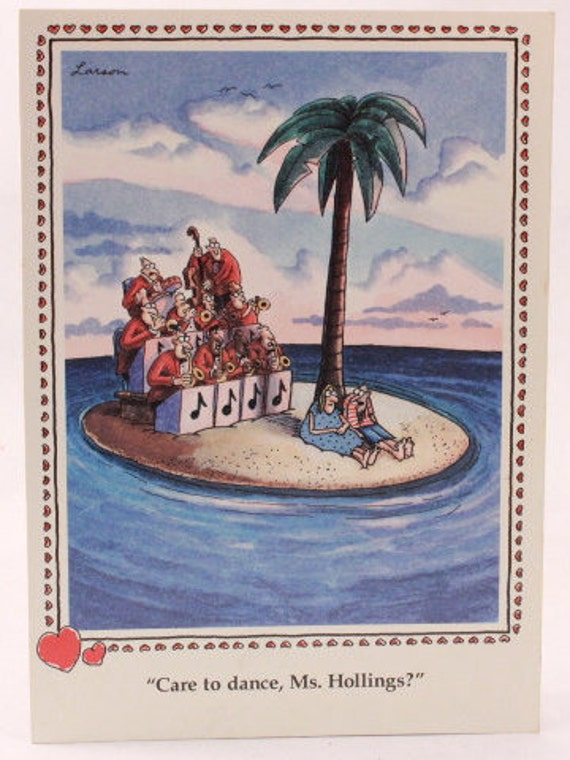 Vintage 1993 gary larson far side greeting card and envelope bookmarktalkfo Choice Image