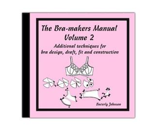 Bra-makers Manual Vol. 2 on CD