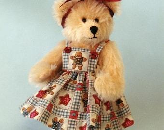 Molly a miniature bear pattern PDF