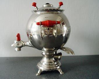 Soviet SAMOVAR. USSR folk vintage Water Heater.