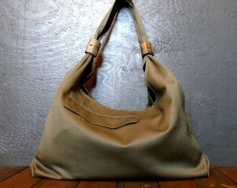 Repurposed Wool Bag