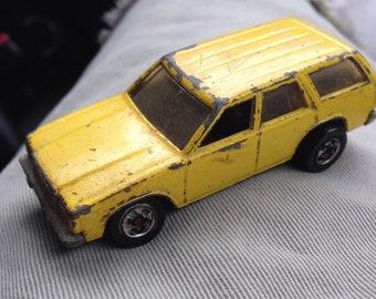 Vintage Toy Station Wagon Diecast Car