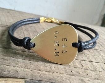 Boyfriend bracelet, Boyfriend jewelry, boyfriend gift for boyfriend, anniversary gift for boyfriend, hand stamped bracelet, husband gift men