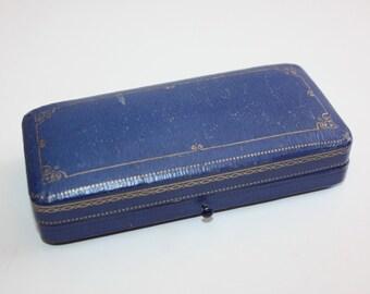 Birks bijoutiers Antique bijoux présentation de cas boîte victorienne