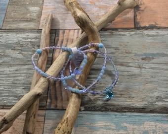 Bracelet Oceania composition of 3 bracelets S/M