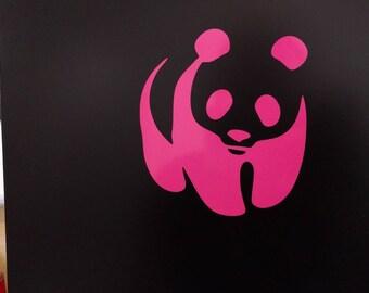 Panda Decal Sticker