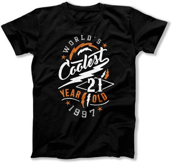 21st Birthday T Shirt Gifts For Him Presents