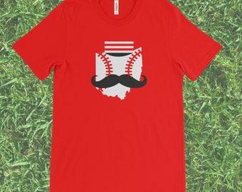 Cincinnati Reds Baseball T-shirt (Red shirt, Cincinnati shirt, ohio baseball tee)