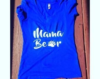 Mama Bear Paw Tee