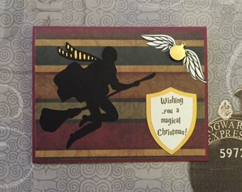 Harry Potter inspired Christmas Card