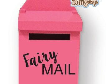 NEW Wooden Fairy Mailbox- Comes in 10 colors