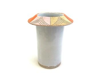 Ceramic Primavera Flared Vase