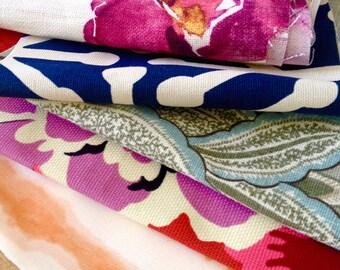 Fabric Scrap Pack, Large Pieces, Fabric remnants, Home Decor Fabric Scraps, Destash, Clearance